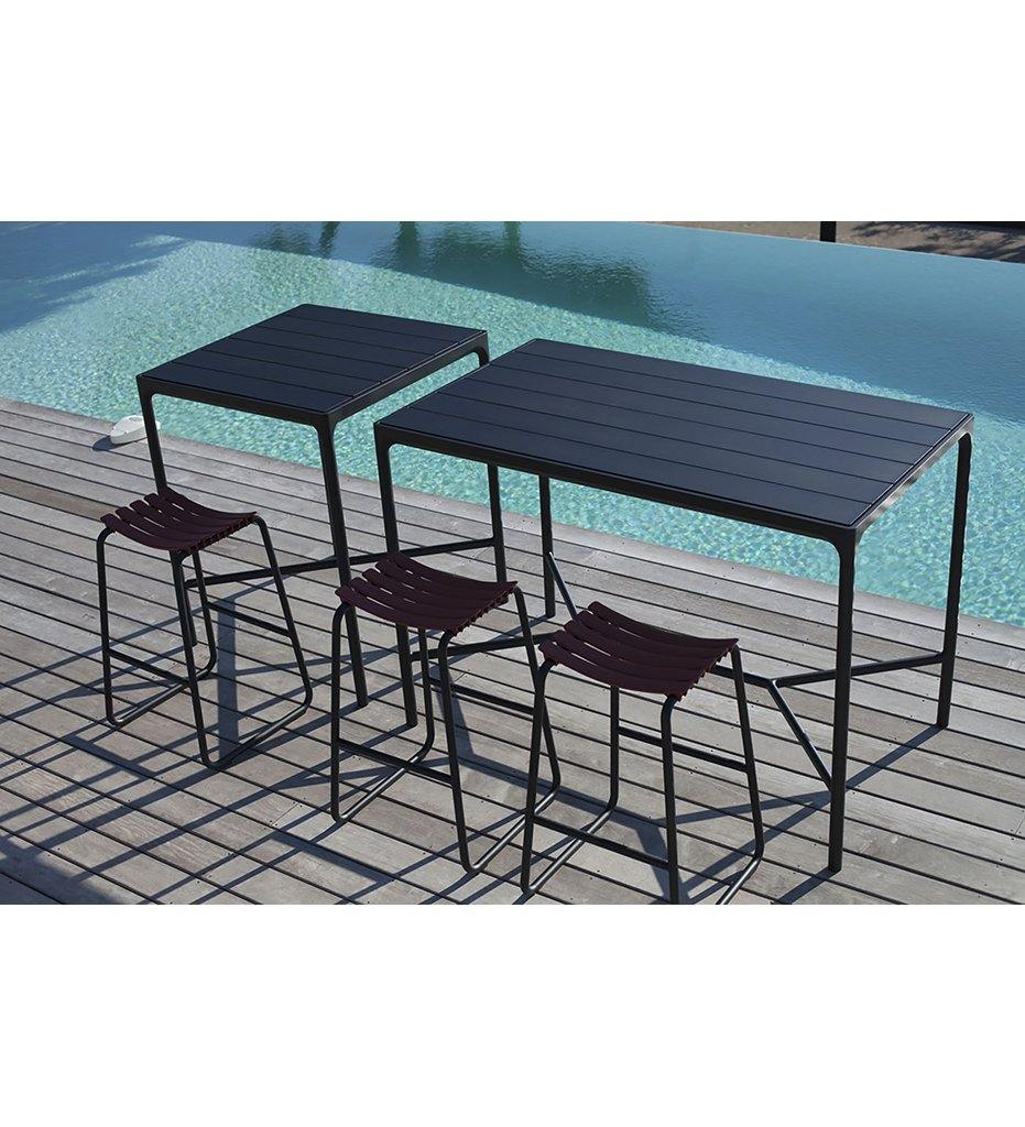 Four Bar Table - Rectangular Aluminum