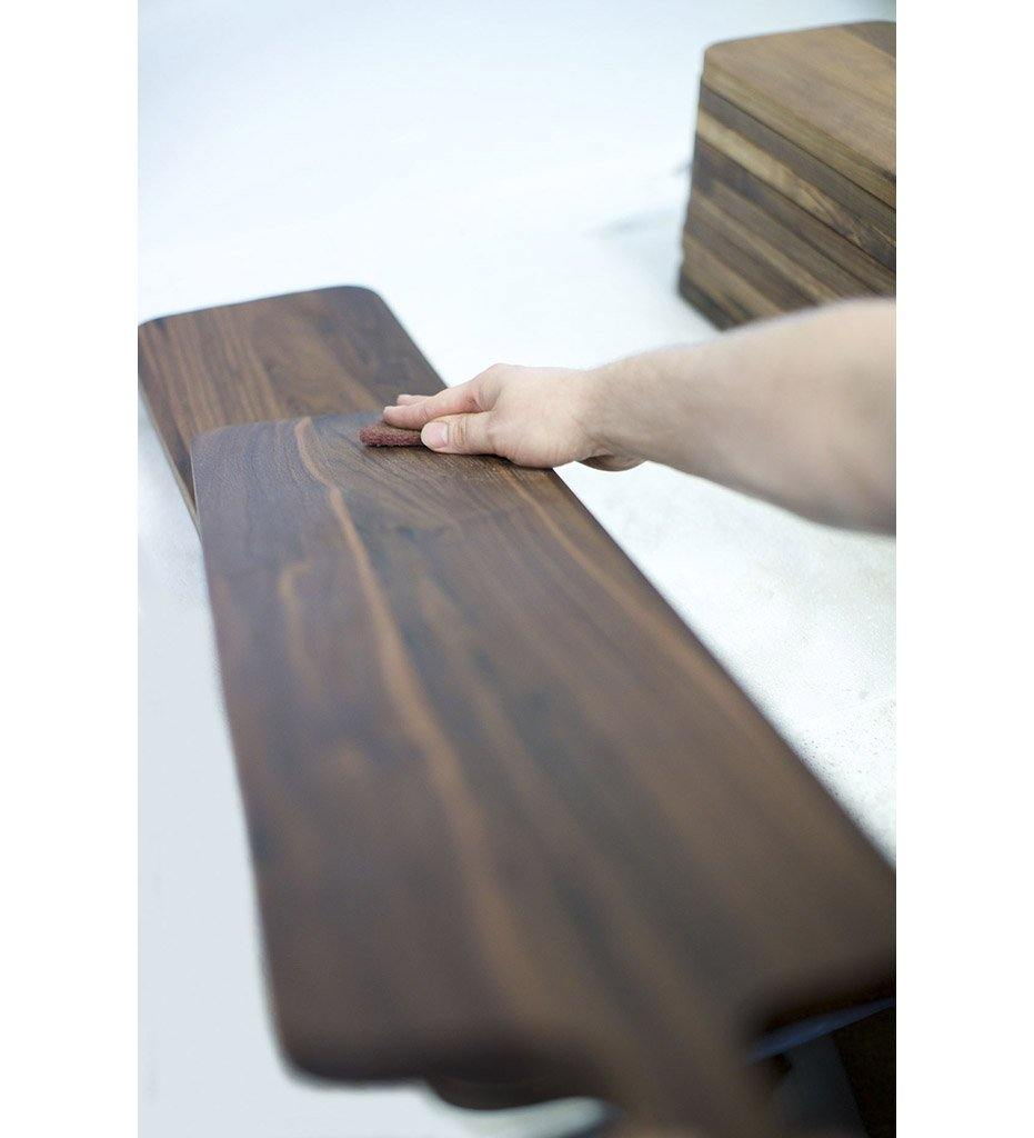 Kiss That Frog DutchDeluxes Bread Board Stripe XL French Walnut 7130-CBST
