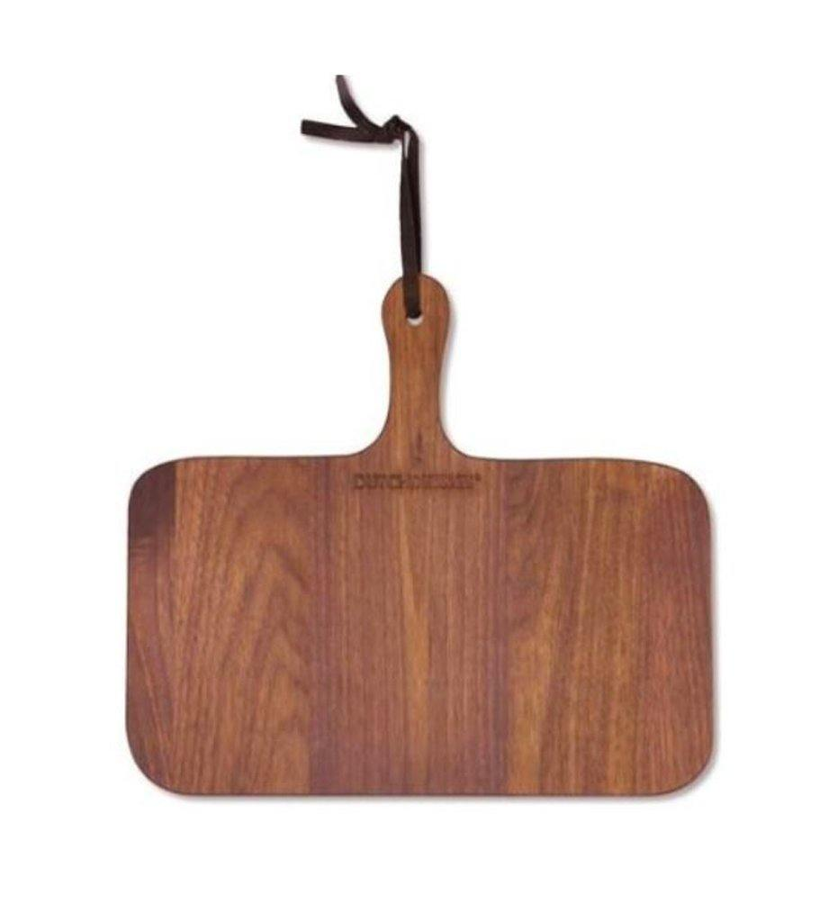 DutchDeluxes XS Rectangular French Walnut Bread Board