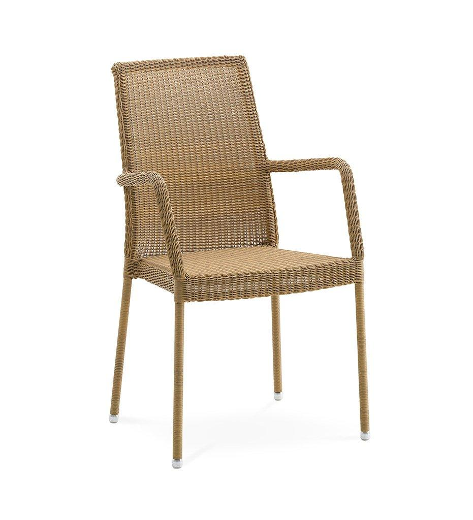 Cane-line Newman Outdoor Natural All-Weather Weave Dining Arm Chair 5434LU