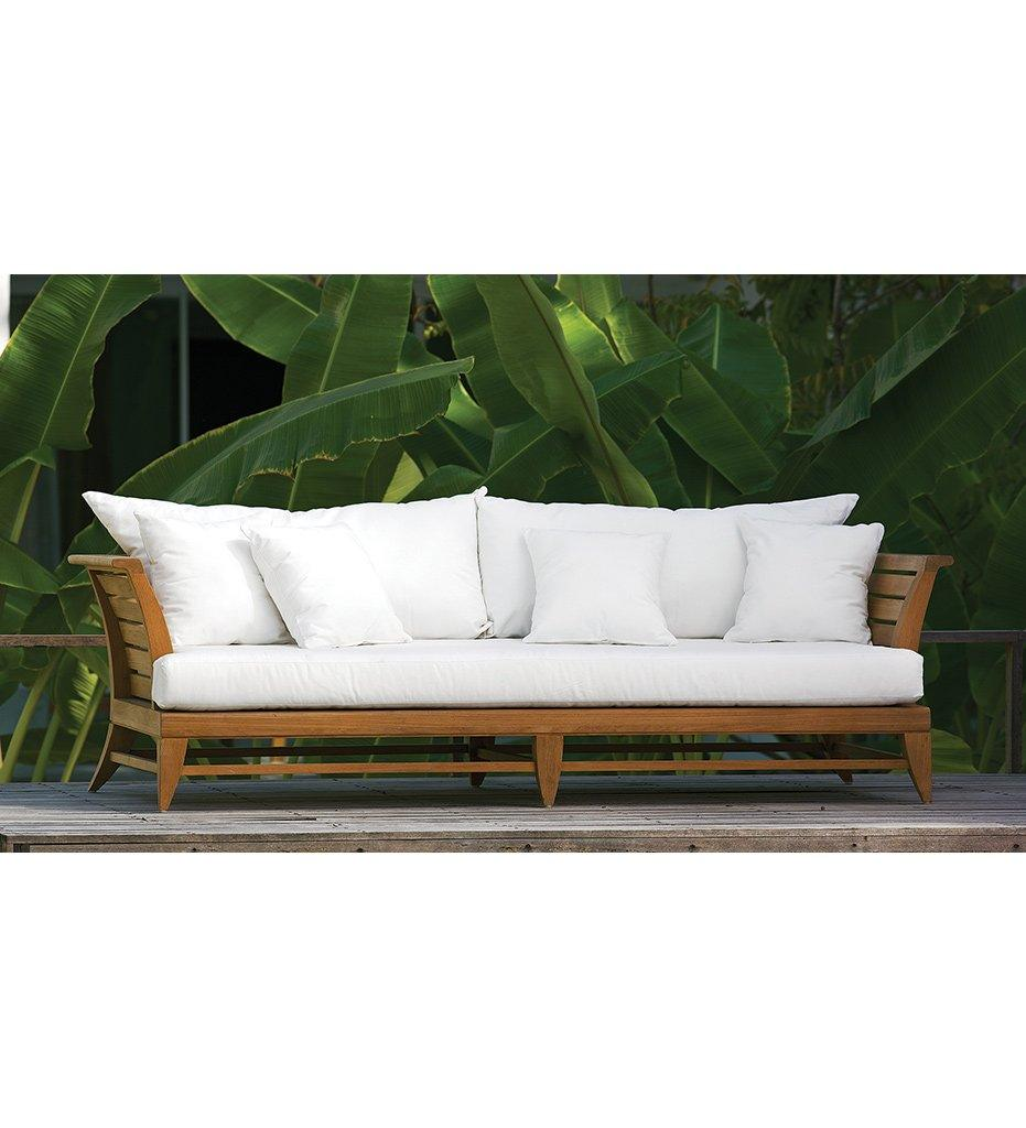 Oasiq | Outdoor | Limited 100 Daybed | Teak Frame