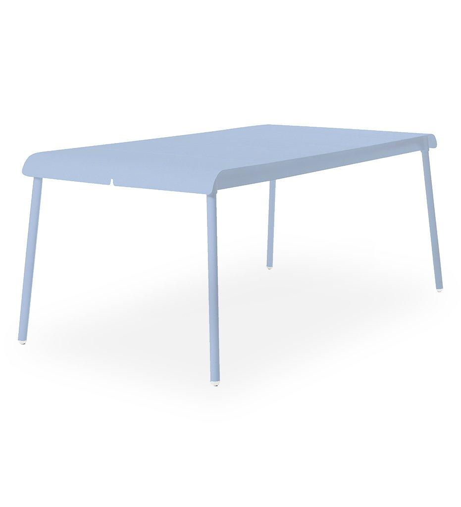 Oasiq | Corail Dining Table - Large | Blue Pastel Aluminum | Outdoor
