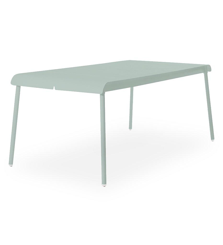 Oasiq | Corail Dining Table - Large | Green Pastel Aluminum | Outdoor