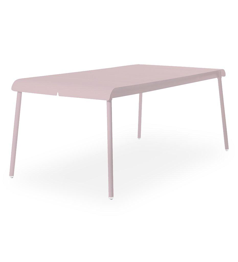 Oasiq | Corail Dining Table - Large | Pastel Pink | Aluminum | Outdoor