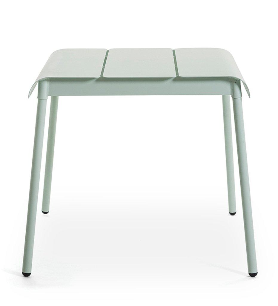 Oasiq | Corail Dining Table - Small | Green Pastel Aluminum | Outdoor