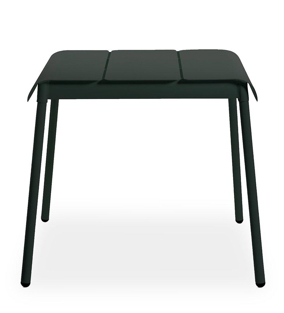 Oasiq | Corail Dining Table - Small | Black Anthracite Aluminum | Outdoor