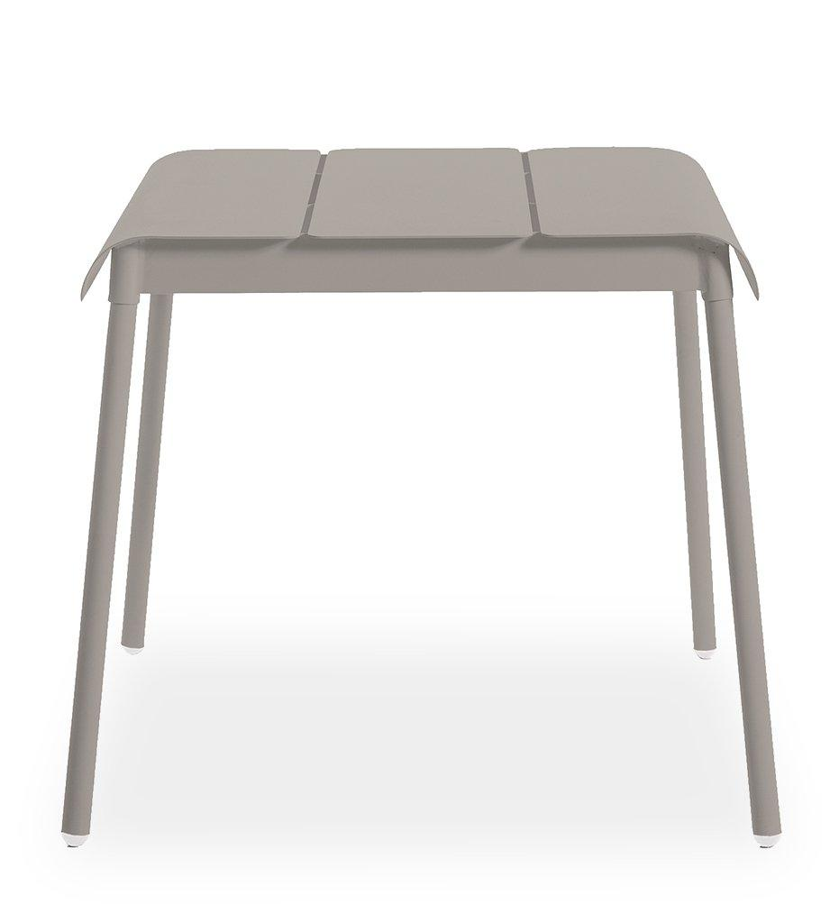 Oasiq | Corail Dining Table - Small | Grey Aluminum | Outdoor
