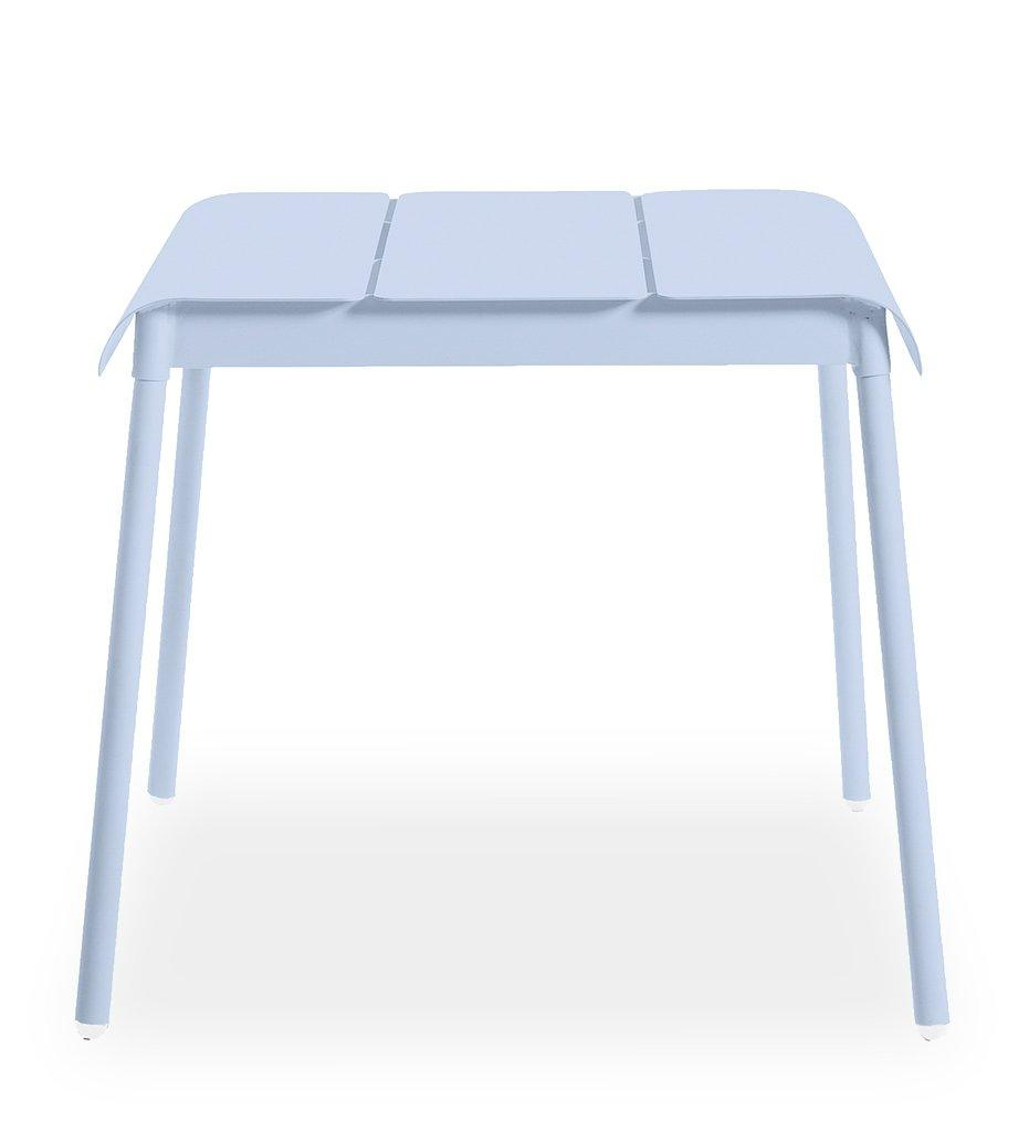 Oasiq | Corail Dining Table - Small | Blue Pastel Aluminum | Outdoor