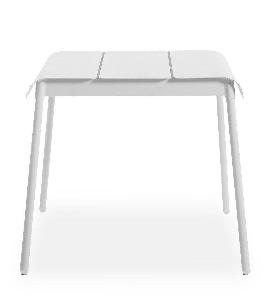 Oasiq | Corail Dining Table - Small | White Aluminum | Outdoor