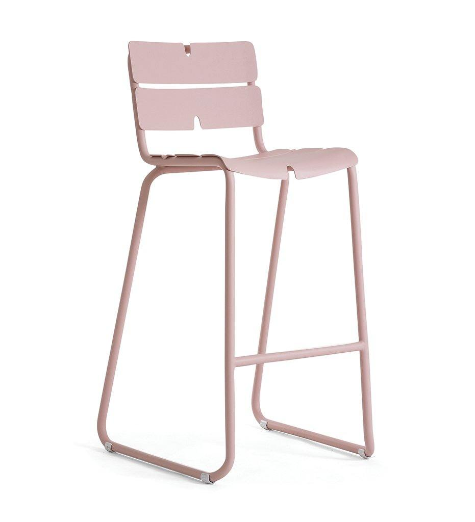 OASIQ Corail Bar Stool in Pink