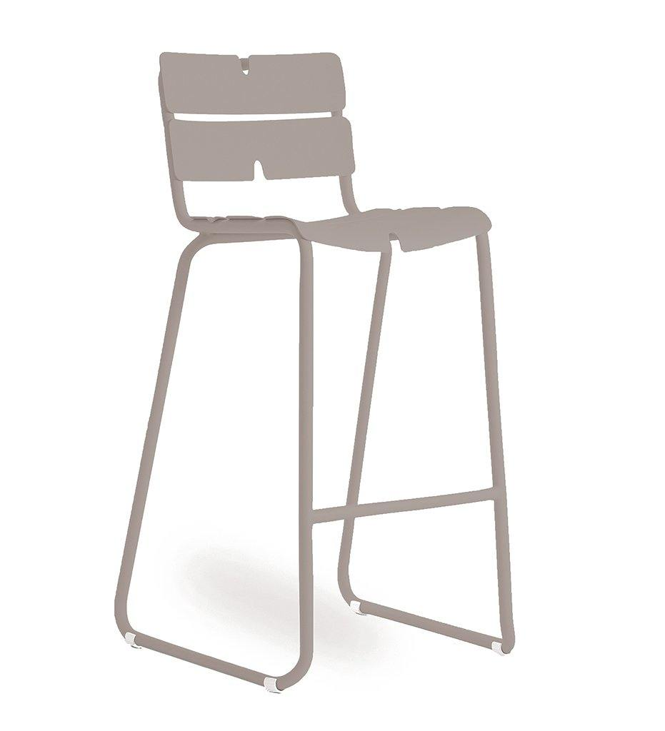OASIQ Corail Bar Stool in Gray