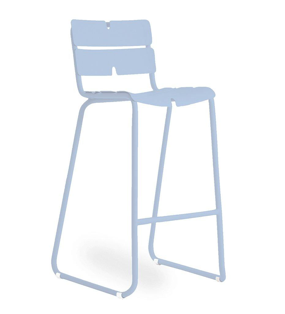 OASIQ Corail Bar Stool in Pastel Blue