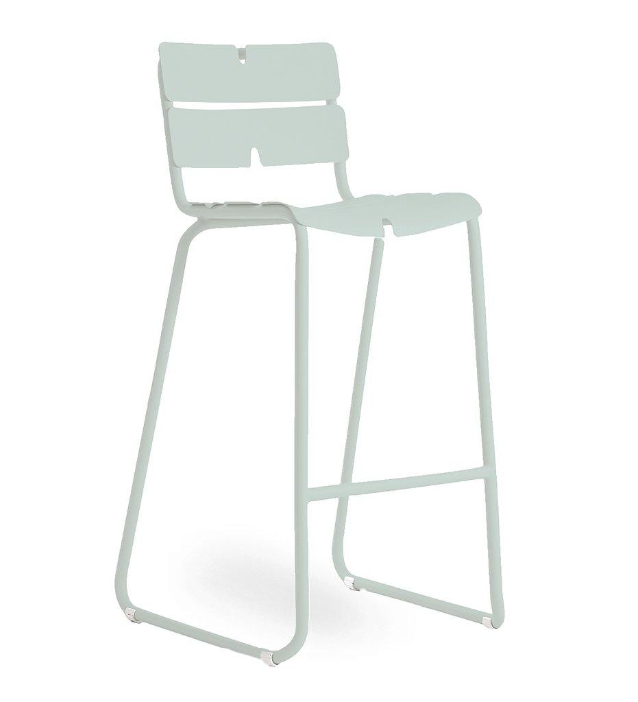 OASIQ Corail Bar Stool in Pastel Green