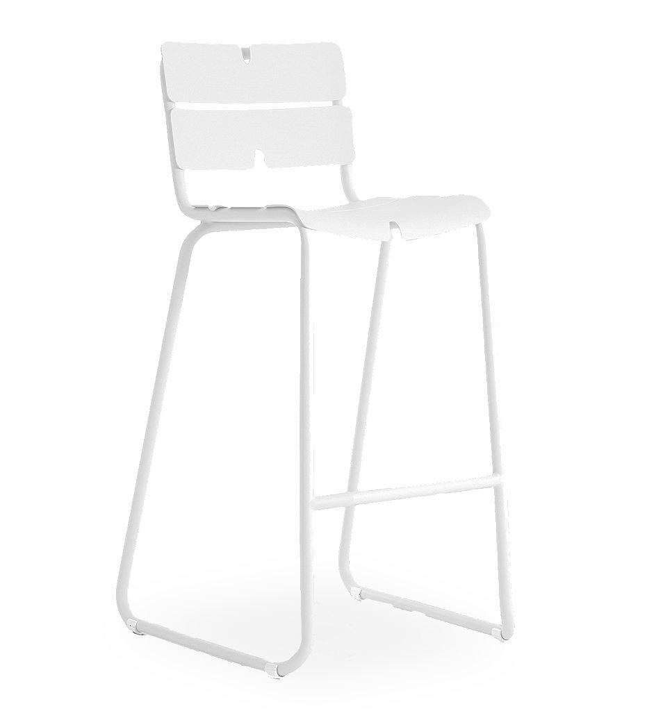 OASIQ Corail Bar Stool in White