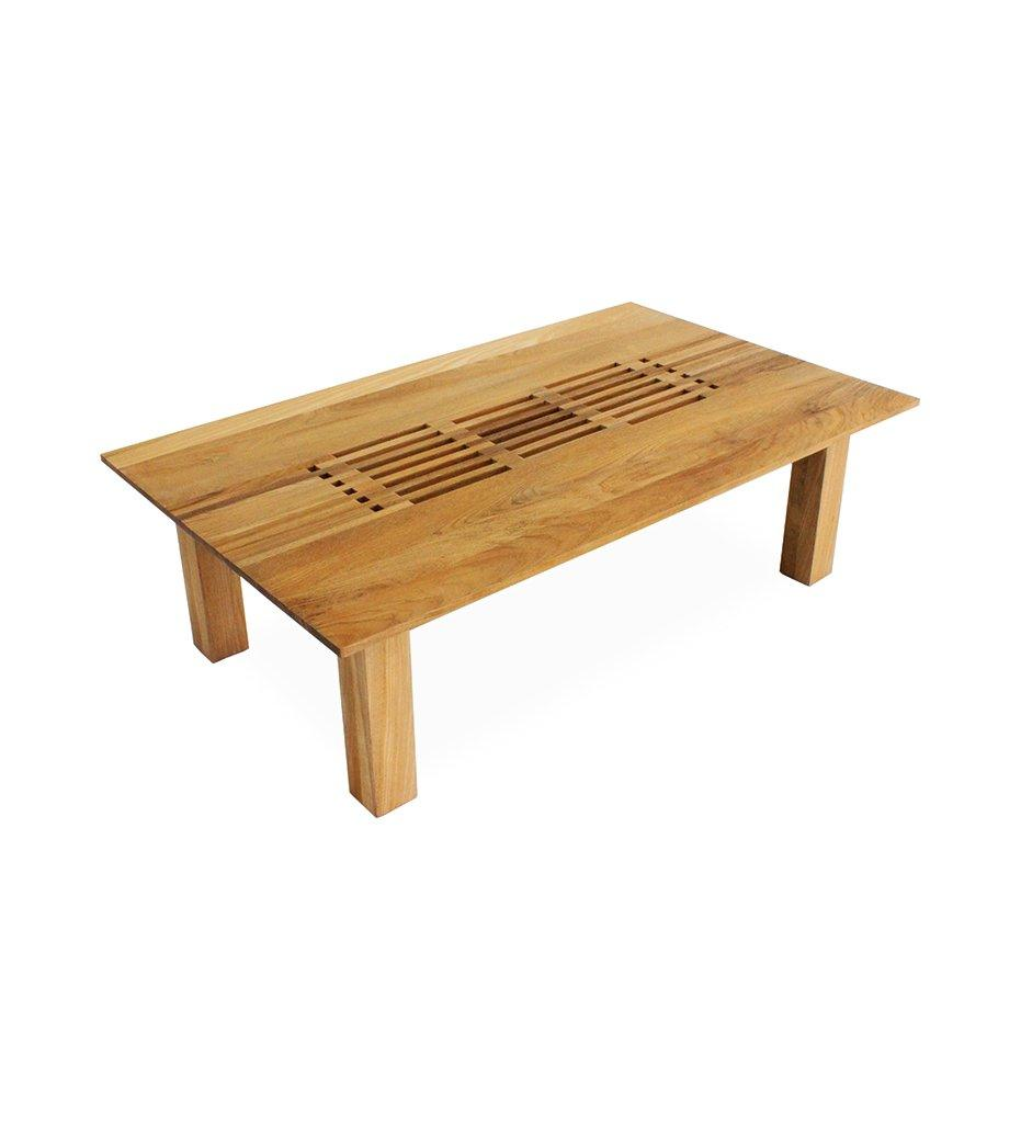 Oasiq | Hamilton Coffee Table - Rectangular | Teak Frame | Outdoor