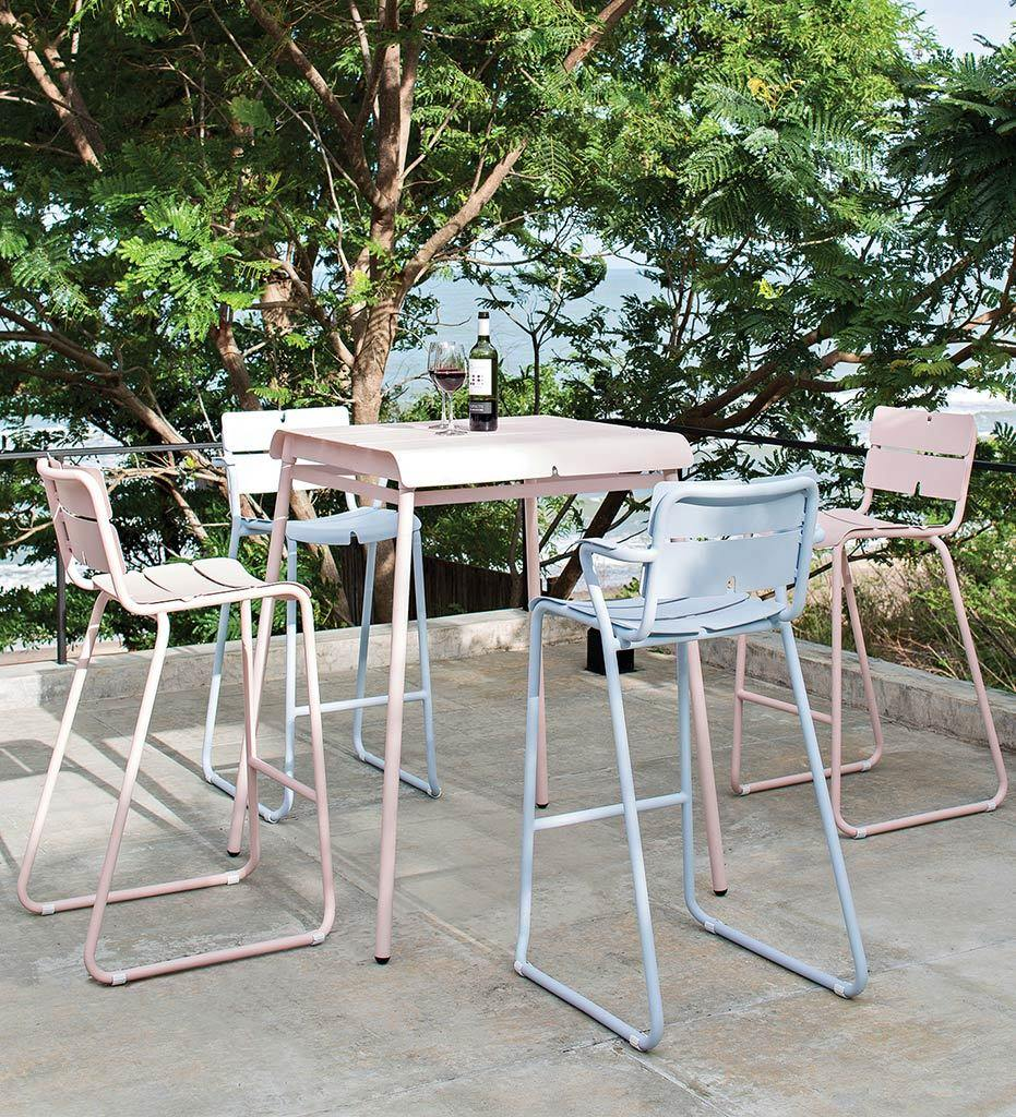 lifestyle, Corail Bar Stool - Arm