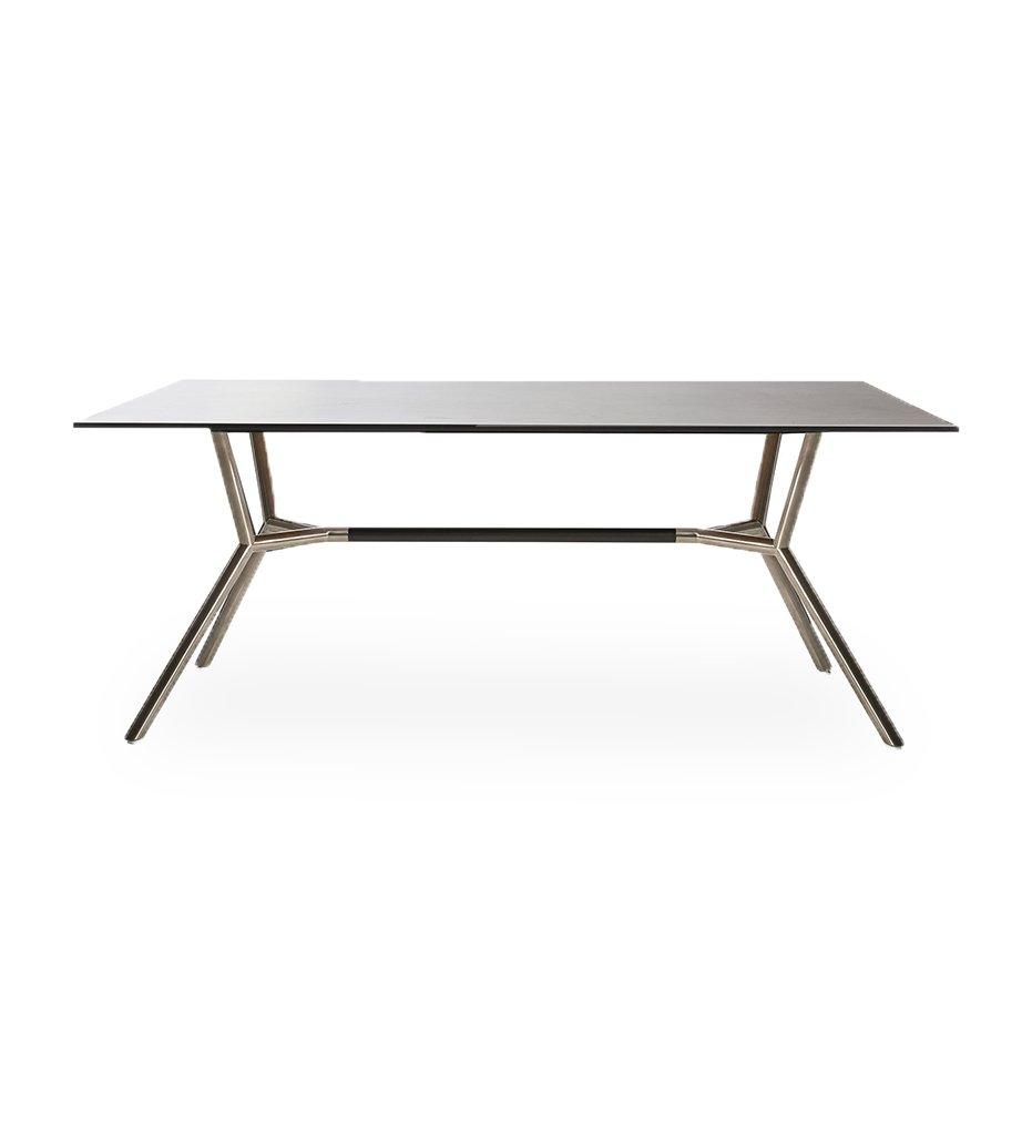 Reef Dining Table - Stainless Base / Small