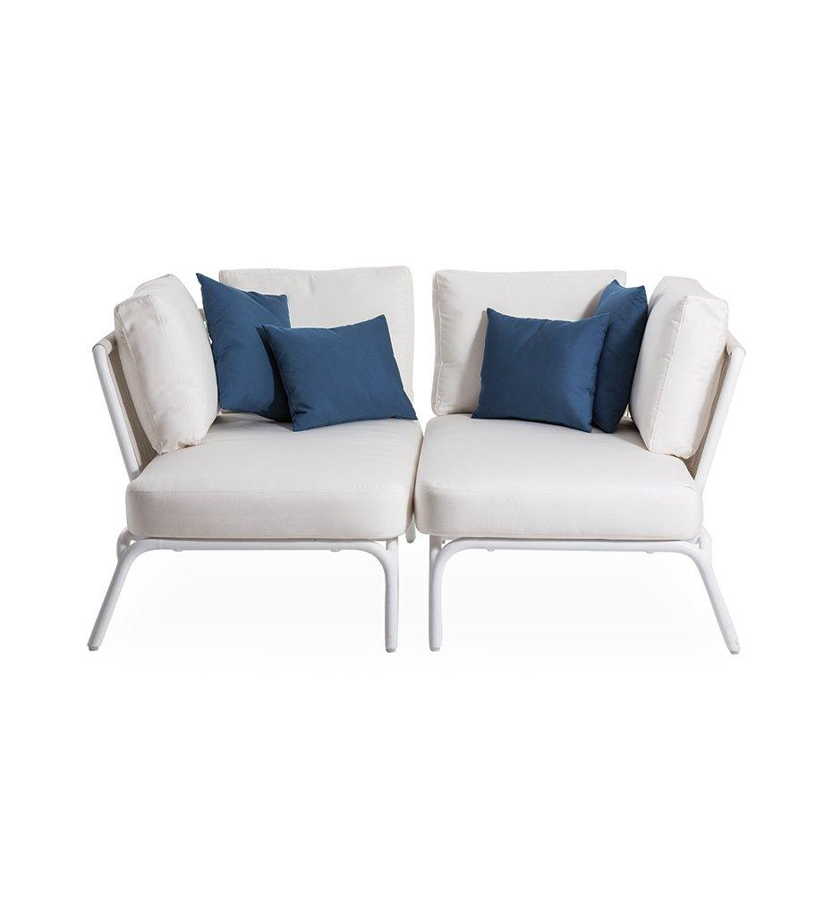 OASIQ Yland Two Seater Sofa