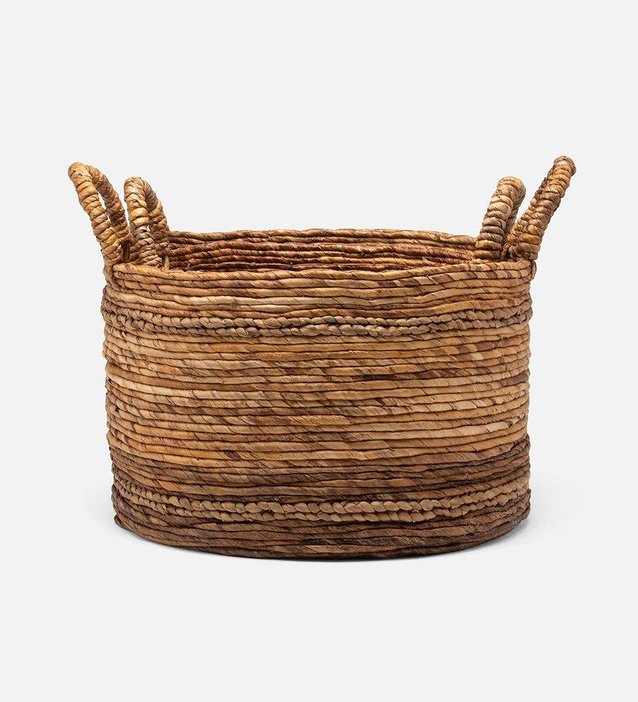 Pigeon and Poodle Payson Banana Bark Basket 05PAYS-NA-NBS2