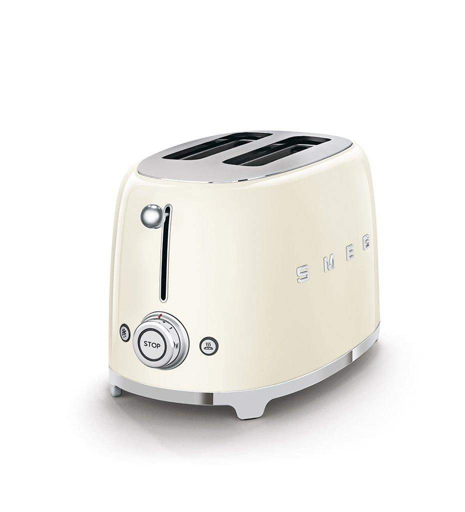 SMEG cream 2-slice toaster