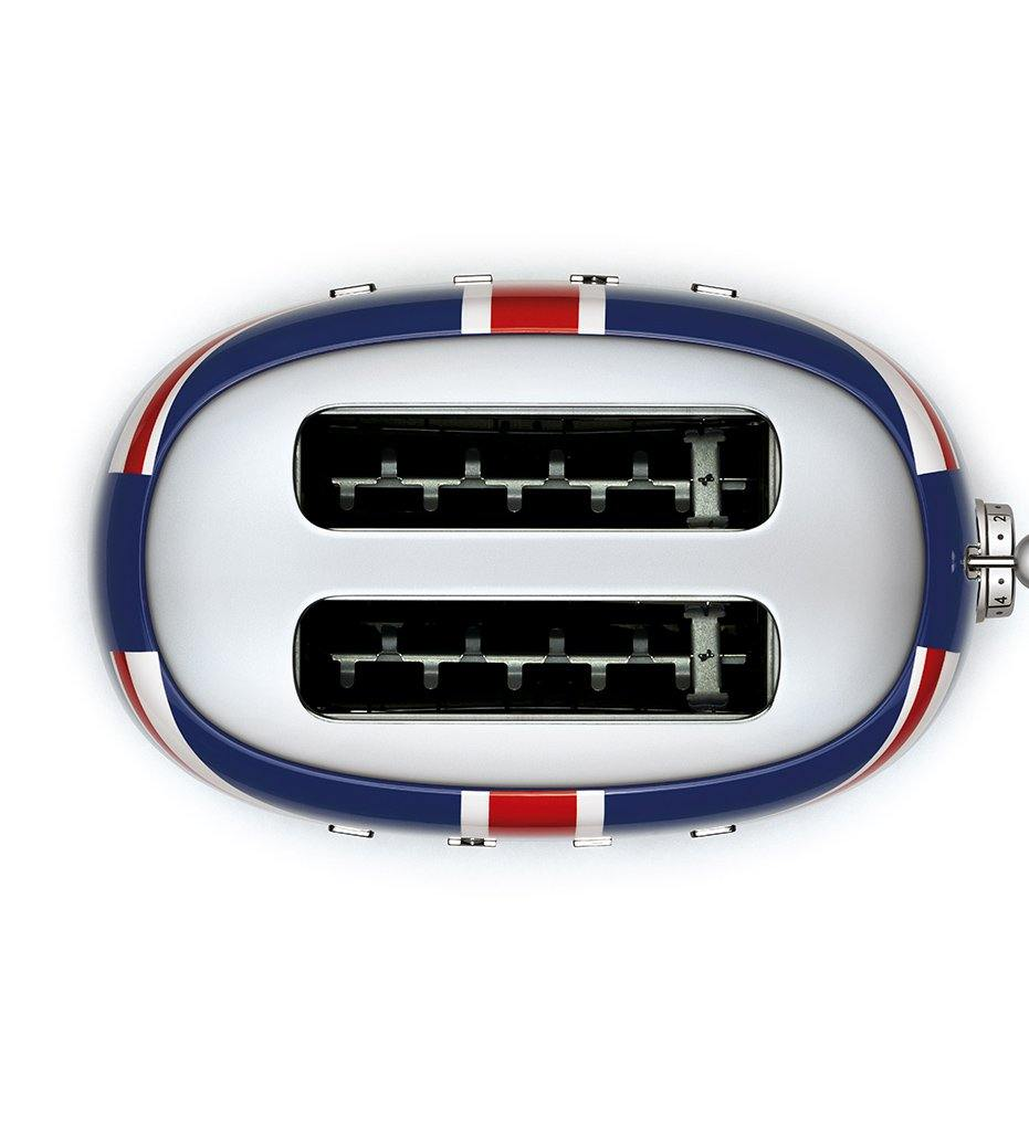 SMEG Union Jack 2-slice toaster