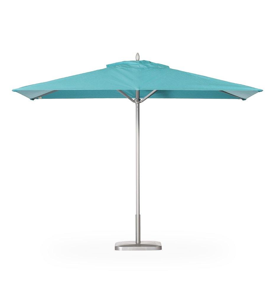 Juniper House-Santa Barbara Designs-Montecito Rectangle Aluminum Umbrella