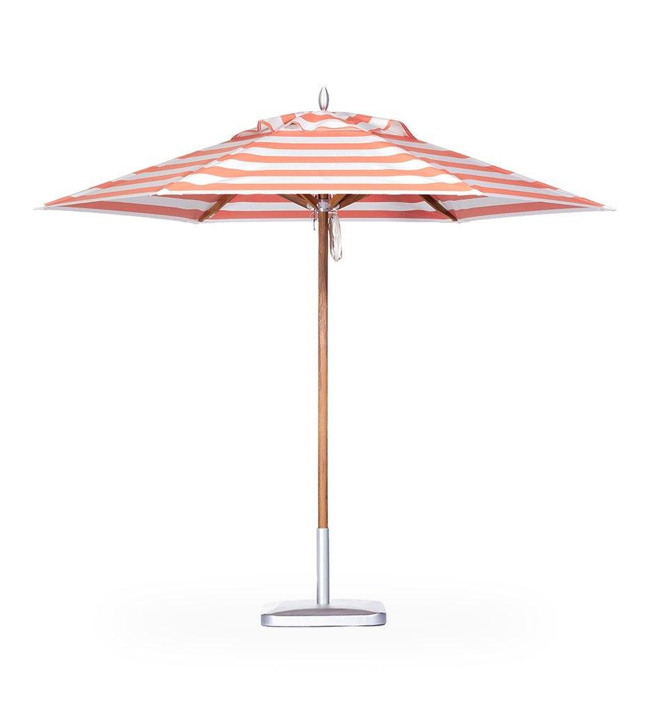 Juniper House-Santa Barbara Designs-Montecito Round Wood Umbrella
