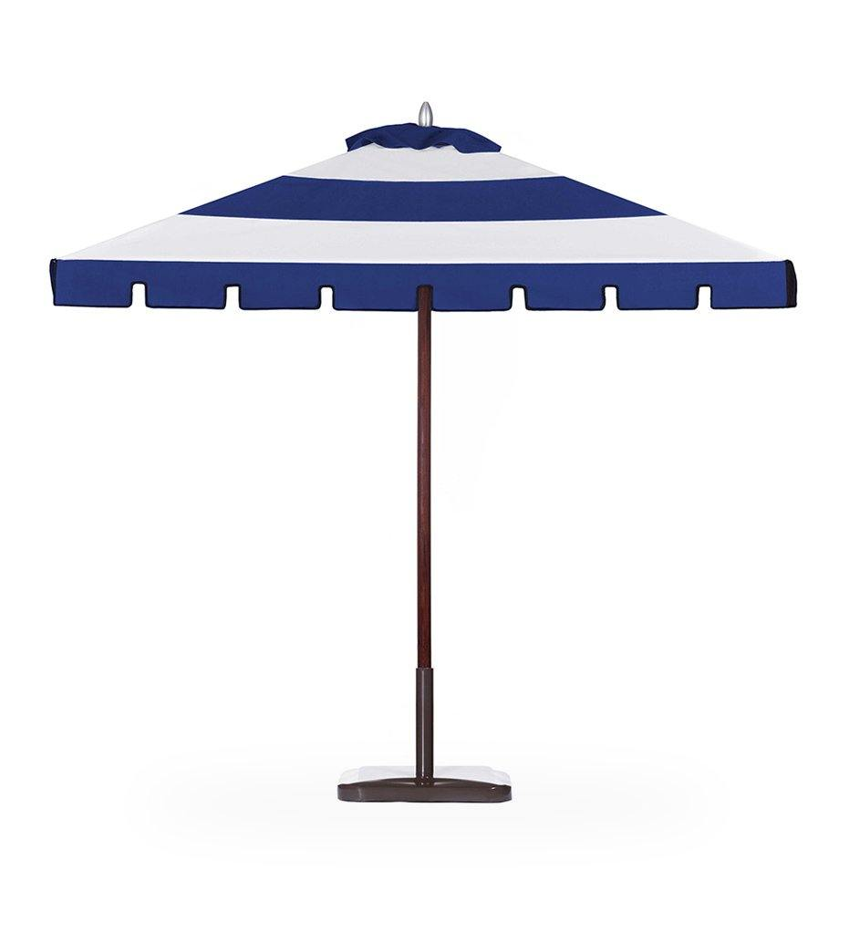 Juniper House-Santa Babara Designs-Montecito Square Aluminum Umbrella