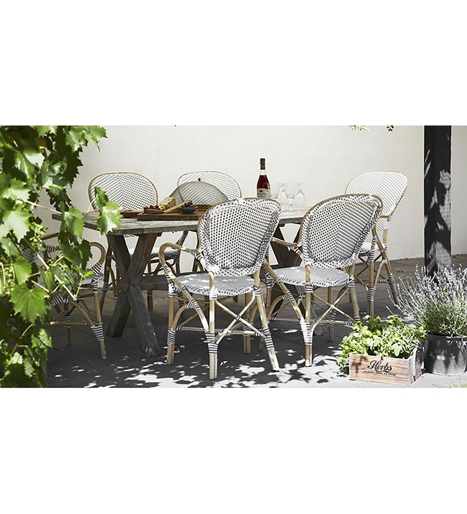 Isabell Arm Chair - Rattan