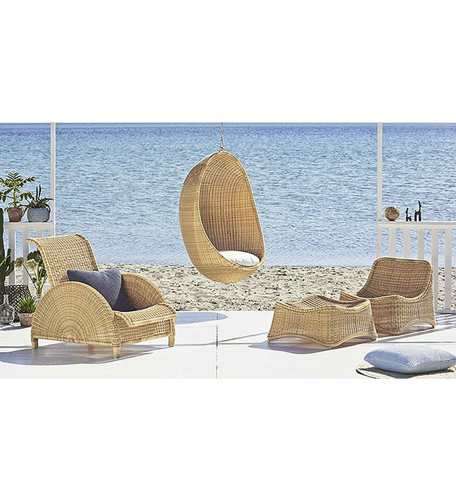 Chill Chair and Stool - Alu|Rattan
