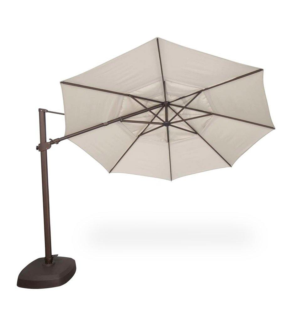 Juniper_House-Treasure_Garden_11.5' Round Cantilever Umbrella