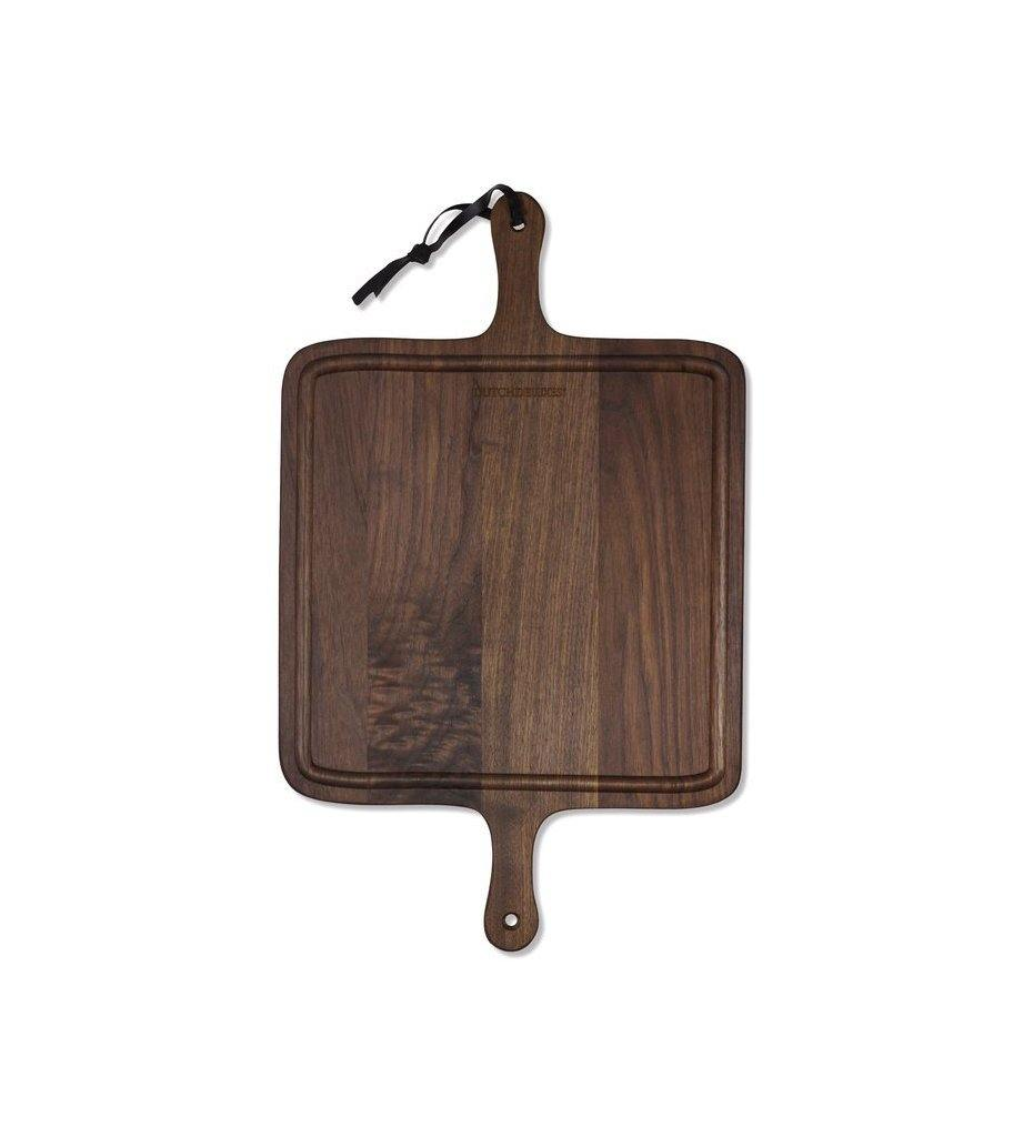 Kiss That Frog Square BBQ Cutting Board French Walnut KTF_CBV-Q