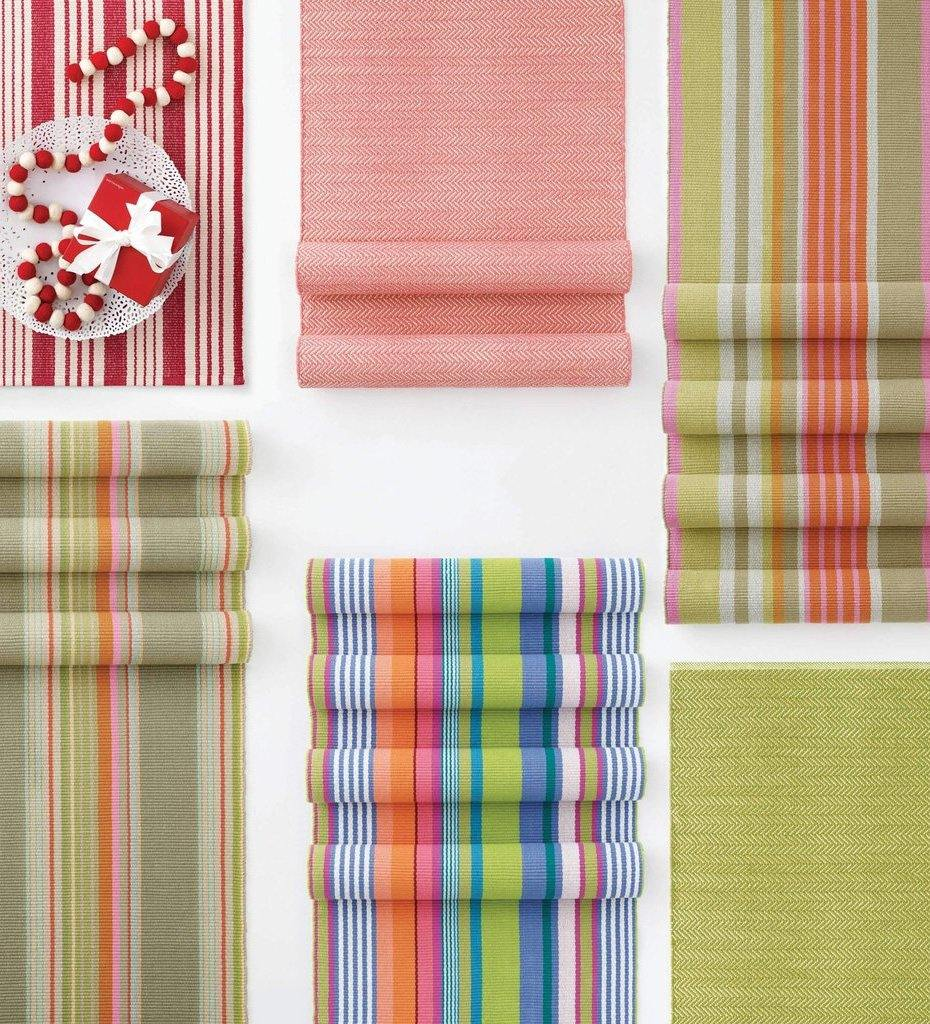 lifestyle, Dash and Albert Mellie Stripe Woven Cotton Rug