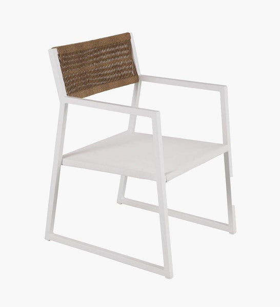 Almeco | Ontario AL Cord Arm Chair
