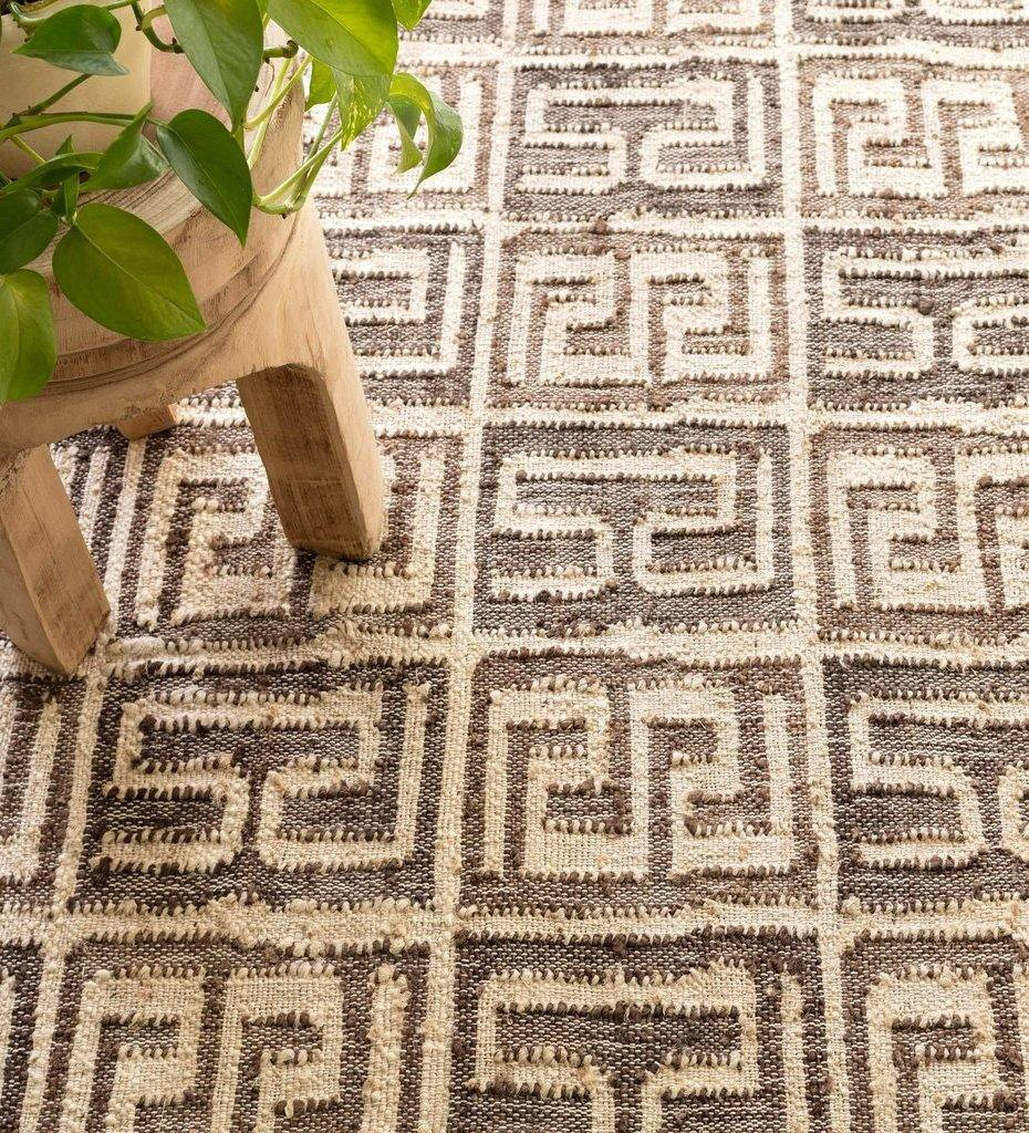 Annie Selke Dash & Albert Bunny Williams Auricula Woven Jute Rug