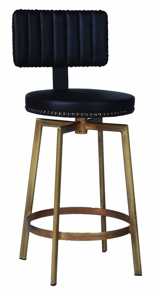 Rambler Counter Stool - Metallic