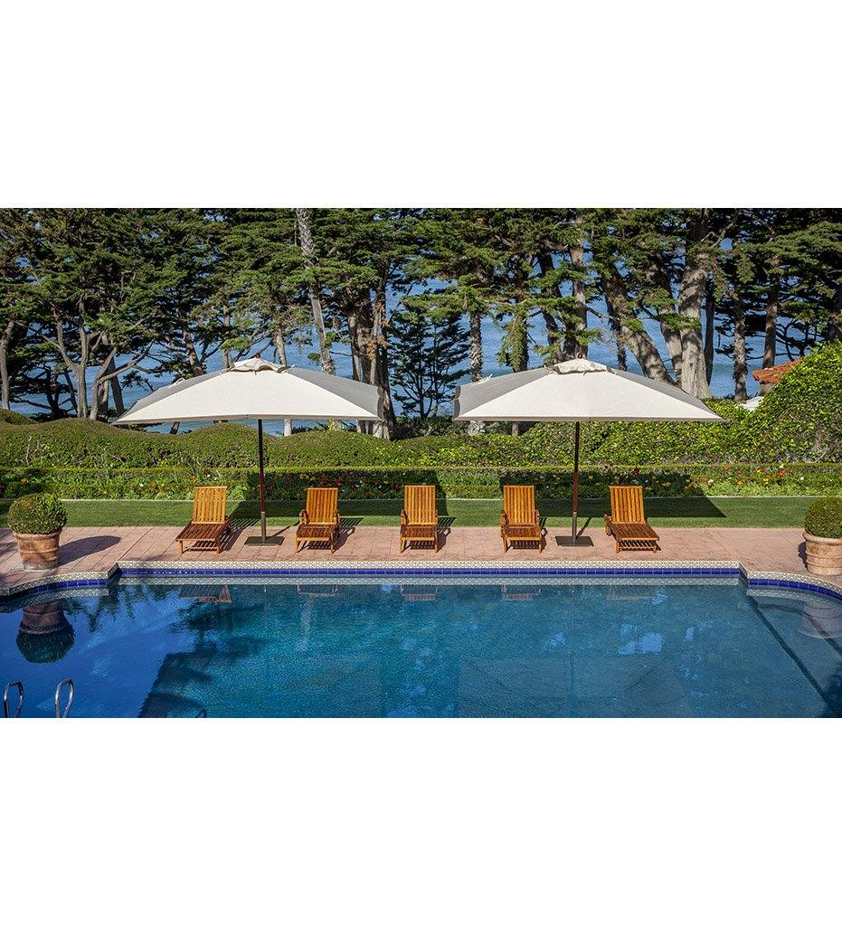Juniper House-Santa Barbara Designs-SantaBarbara-Rectangle-Maple Pole Umbrella