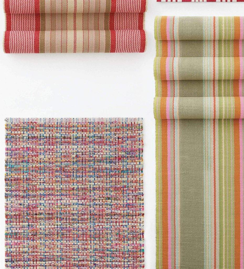 lifestyle, Dash and Albert Vista Chindi Woven Cotton Rug