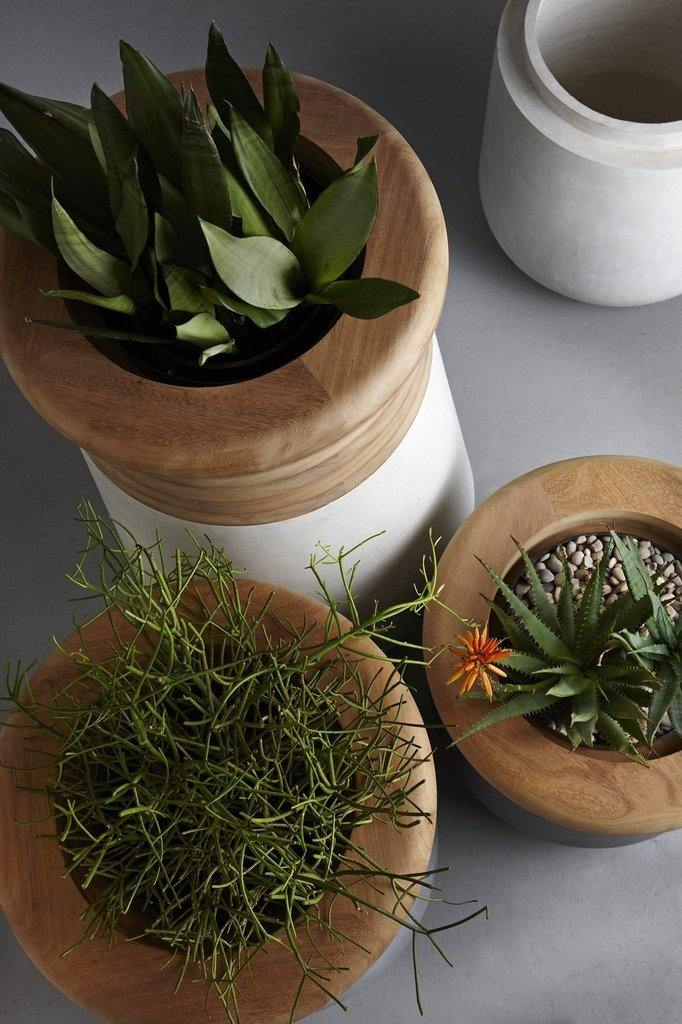 lifestyle, Indigenus Soma Planter 1600 Wood Top