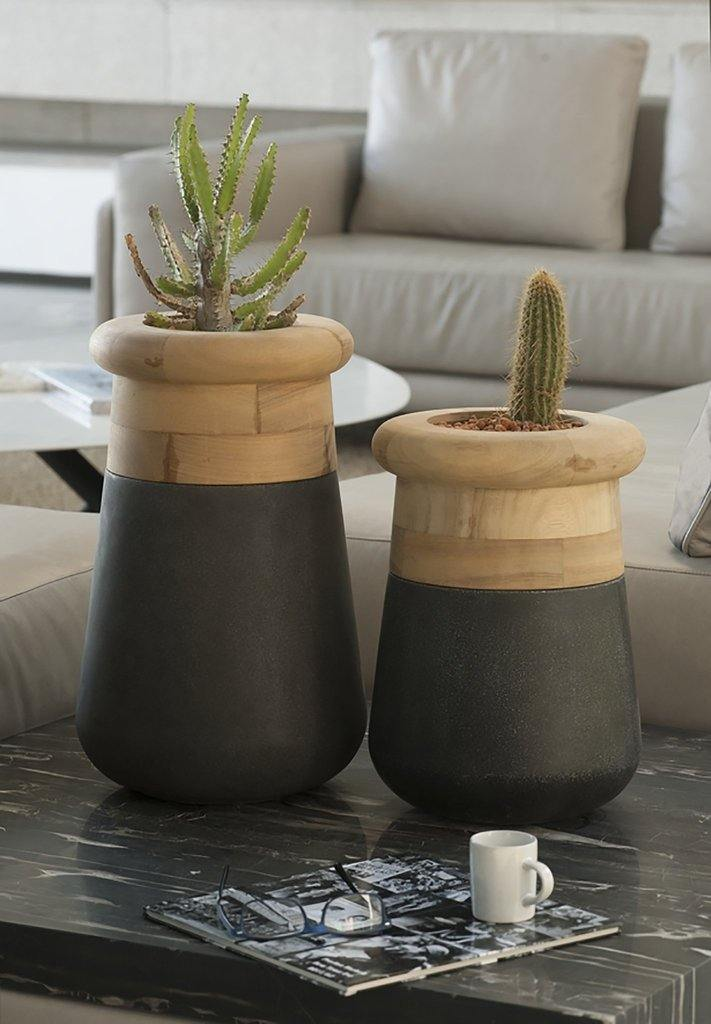lifestyle, Indigenus Soma Planter Table Top Small SOMA380