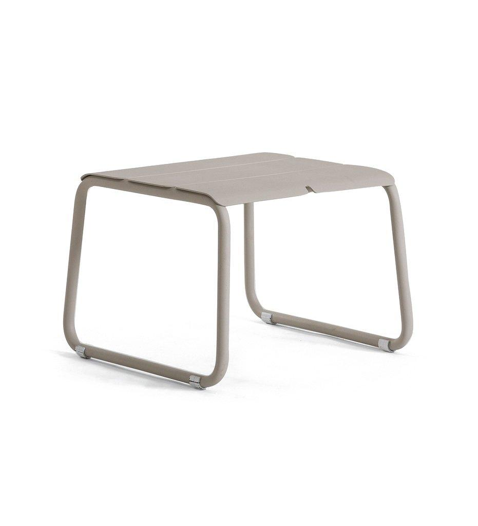 Oasiq | Corail Footstool / Coffee Table | Grey Aluminum | Outdoor