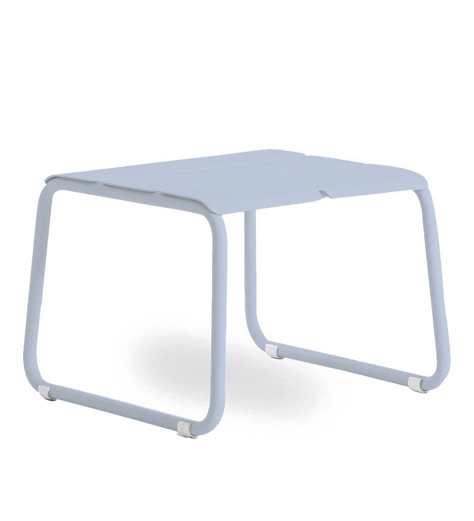 Oasiq | Corail Footstool / Coffee Table | Blue Pastel Aluminum | Outdoor