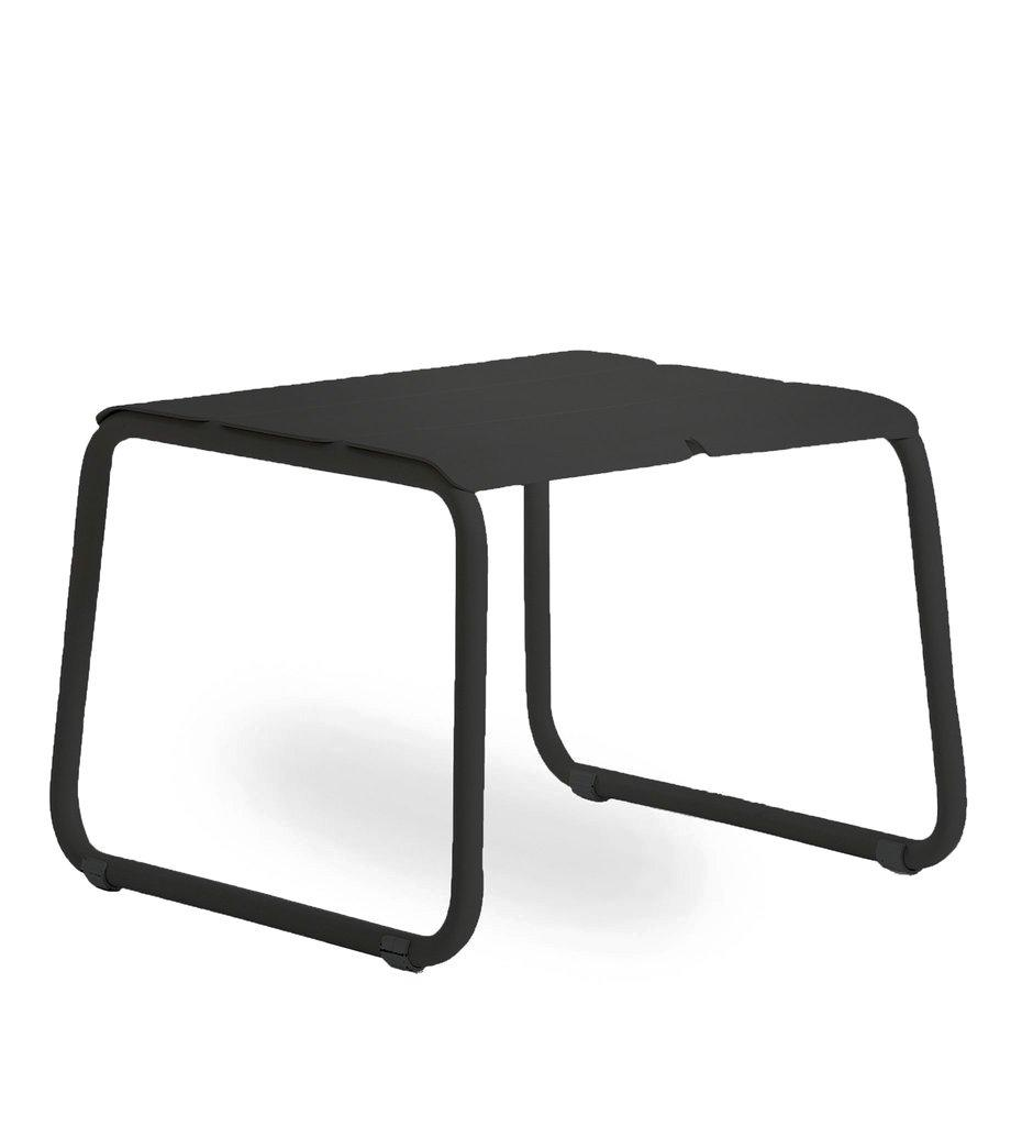 Oasiq | Corail Footstool / Coffee Table | Black Anthracite Aluminum | Outdoor