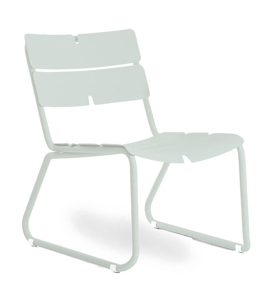 Oasiq | Corail Lounge Chair | Pastel Green Aluminum | Outdoor