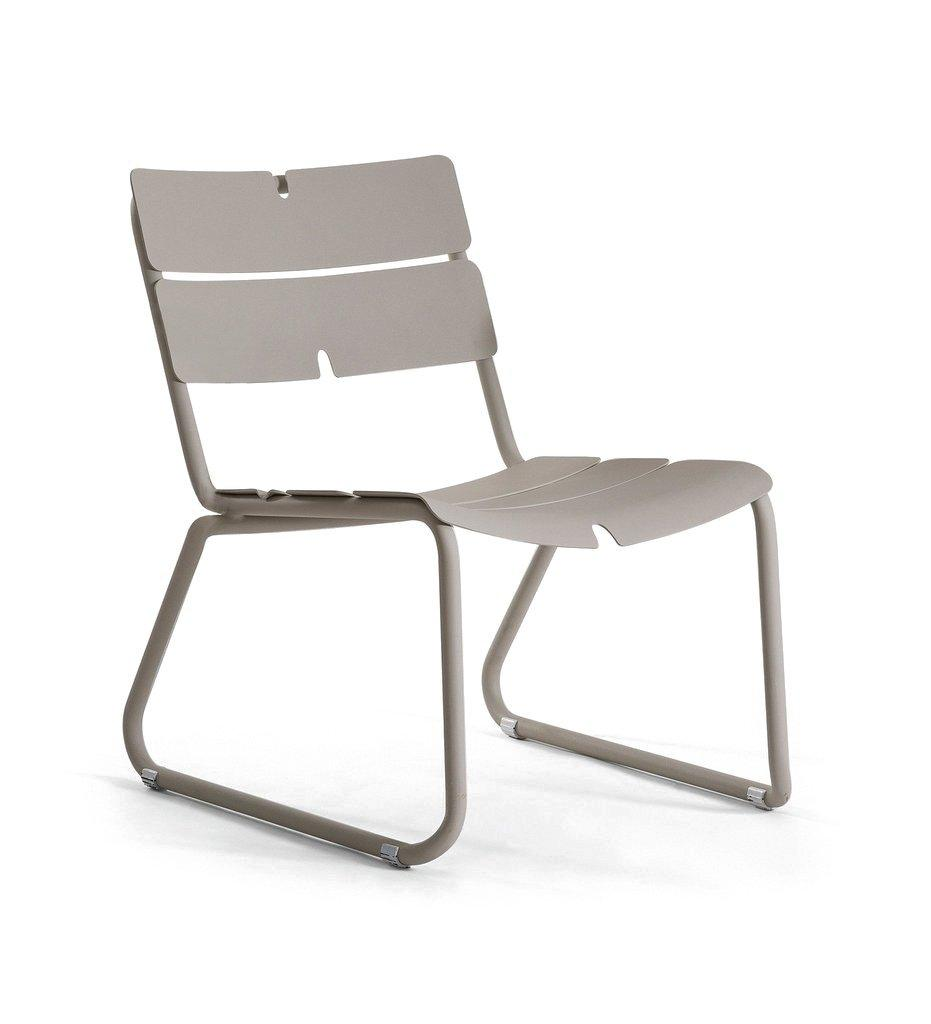 Oasiq | Corail Lounge Chair | Grey Aluminum | Outdoor