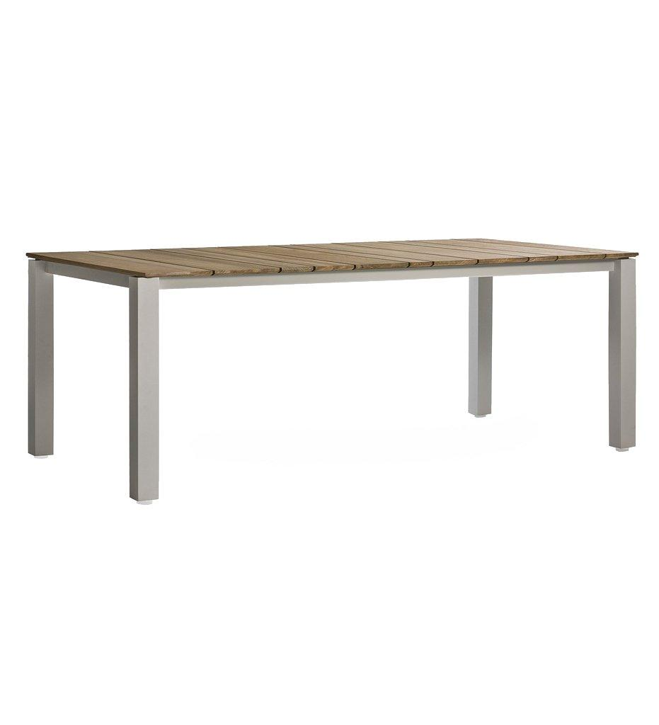 Oasiq, Machar Outdoor Dining Table, Anthracite Frame and Legs, Grey Ceramic Top