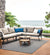 lifestyle, Oasiq | Outdoor | Rug | Outdoor Patio Side View