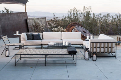 lifestyle, Stephen Kenn Outdoor Sectional Corner Chair