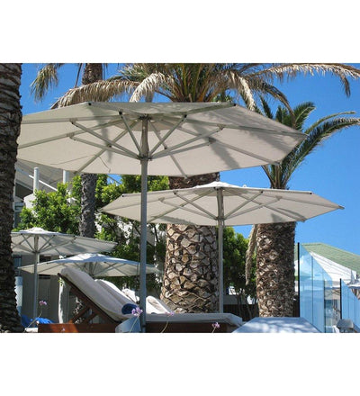 lifestyle, Woodline Shade Solutions Storm Center Pole Extreme High Wind Umbrella