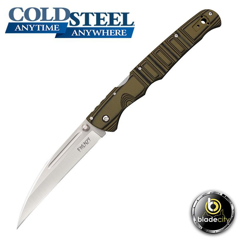 Cold Steel Frenzy I Folding Knife-Blade City